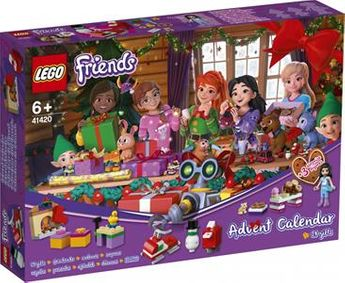 Calendrier Avent LEGO Friends