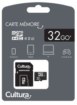 Carte Micro Sdhc Cultura 32Go