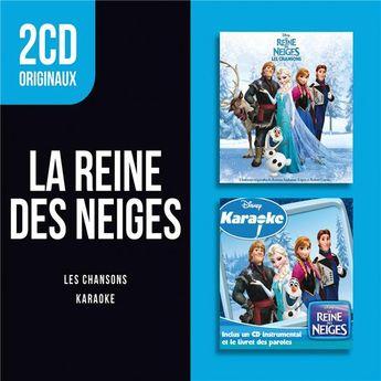 2Cd Originaux: La Reine Des Neiges - Les Chansons -Disney KaraOKe - CD