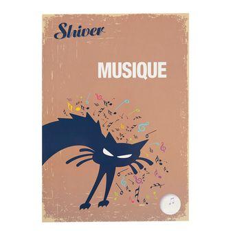 Cahier de Musique - A4 Vertical 48 pages - Shiver