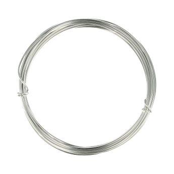 Fil aluminium 1,5mm x 5m silver