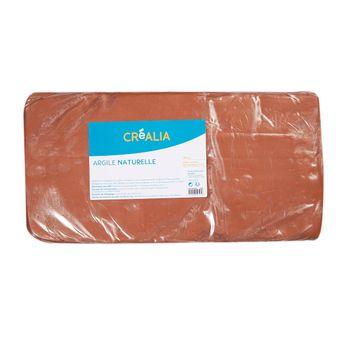 Argile naturelle - Terracotta - 10 kg - Créalia