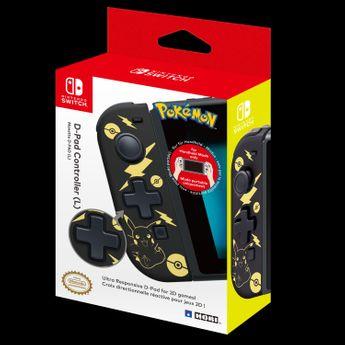 HORI - Nintendo Switch D-Pad Controller (L) Pikachu Black & Golden Edition