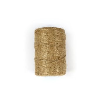 FIL JUTE 2MM 100M NATUREL