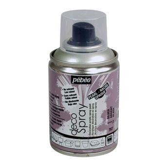 Bombe de peinture - DecoSpray - Argent Nacré - 100 ml - Pébéo