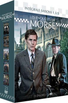 Les Enquêtes De Morse - Intégrale Saisons 1 À 5 - DVD