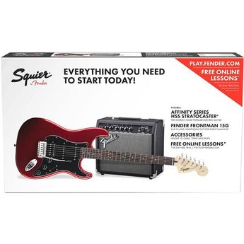 Squier - PACK STRAT HSS CAR AFFINITY SERIES