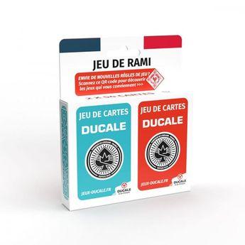 2 jeux 54 cartes rami ecopack