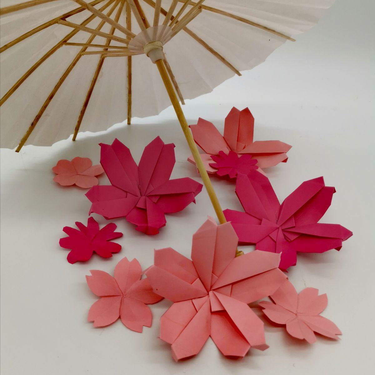 DIY - Origami fleur de sakura