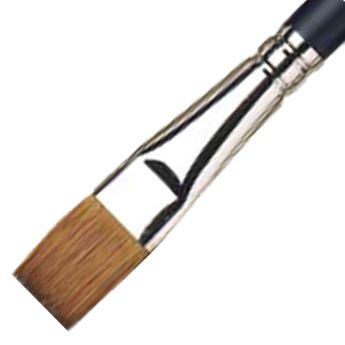 Pinceau à lavis en martre pour aquarelle -manche court - 13mm