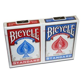 BICYCLE 2 JEUX 54 CARTES RIDER