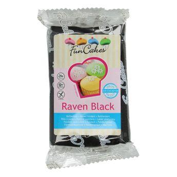 Pâte à sucre  - noir - 250g