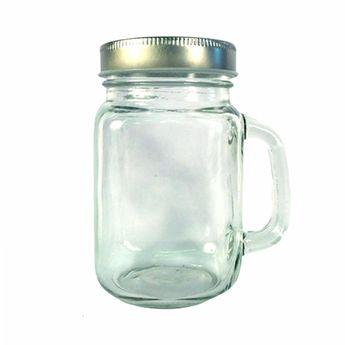 Bocal en verre avec poignée - 473 ml