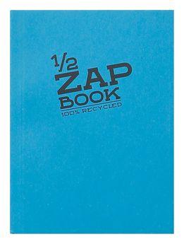 1/2 Zap Book carnet collé 80F A6 80g