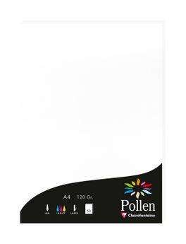 1 étui de 50 Feuilles Pollen 210x297 blanc 120g