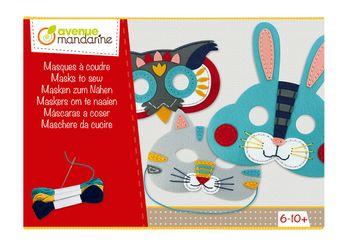 Boîte créative, Masques à coudre