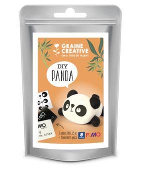 Sachet fimo 2x25g - panda