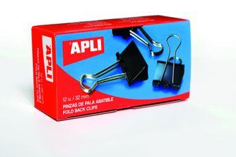 Boîte 12 Pinces à clip 32 mm