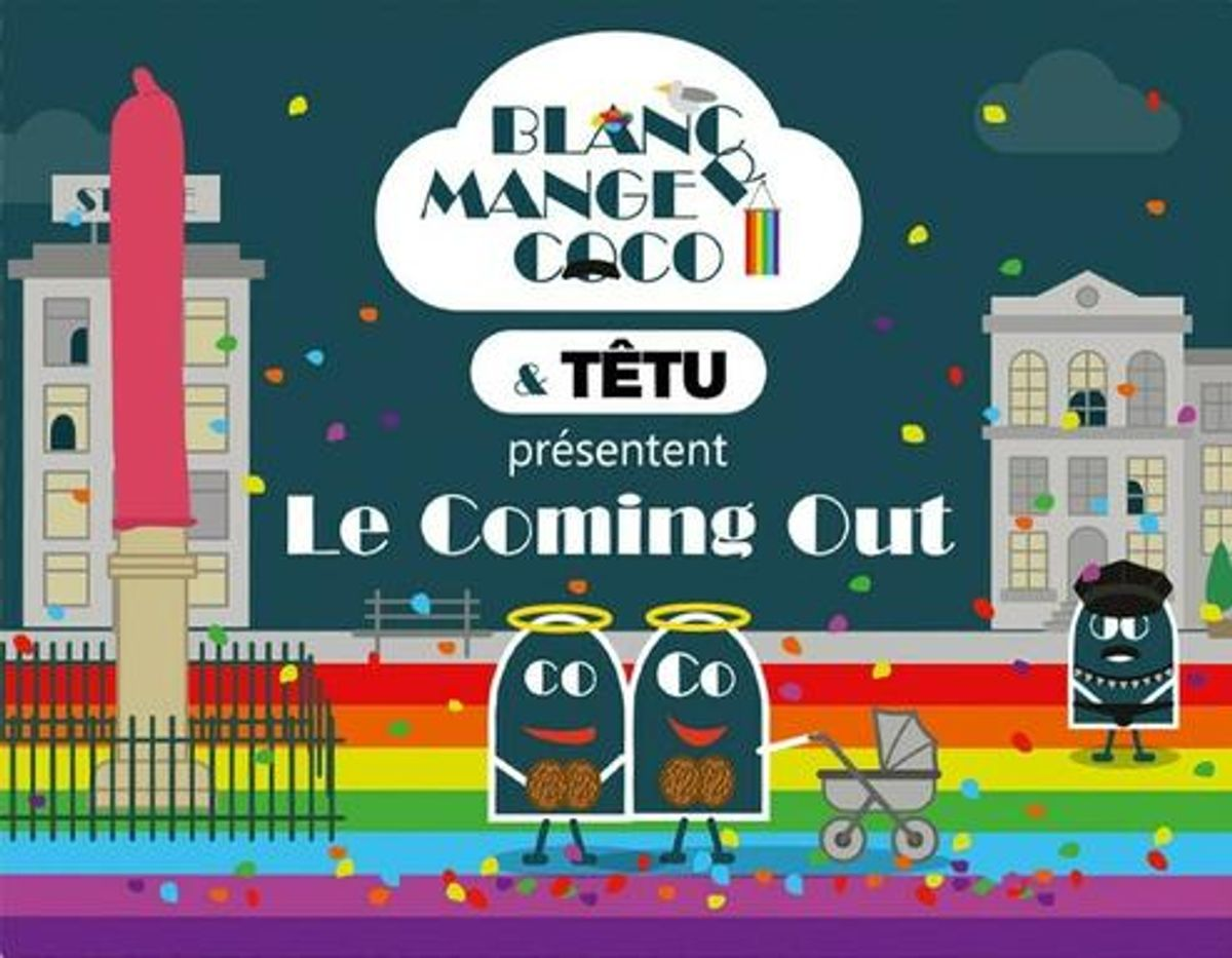 BLANC MANGER COCO - LE COMING OUT