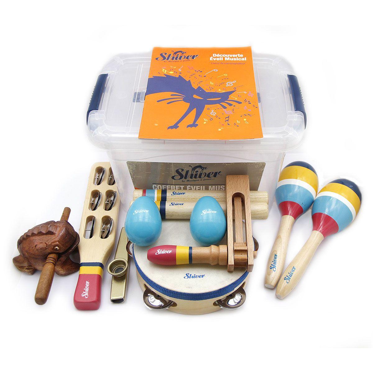 Coffret d'éveil musical 9 instruments - Shiver