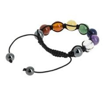 Bracelet 7 chakras shambala