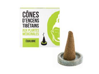 Cônes tibétains équilibre