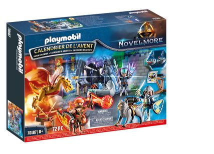 Calendrier Avent Playmobil duel de chevalier